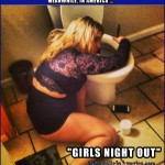 California Dreamin   drunk white chick over toilet Meanwhile In America 150x150