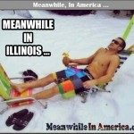 Dont Forget Your Free Oranges at the Border   frozen illinois tundra sunbathing Meanwhile In America 150x150