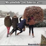 Nothing Funnier Than Watching People Slip On Ice!   girls funny slip ice Meanwhile In America 150x150