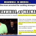 A Toe Sucking Bandit at Walmart? No way ...   guy arrested walmart sucking toes Meanwhile In America 120x120c