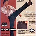 Chuck Norris Doesnt Wear a Watch, HE Decides What Time it is.   Chuck Norris Action Jeans Ad Meanwhile In America 120x120c