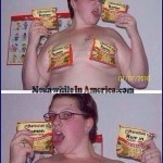 Georgians Take Their Snow Storms Seriously    Ramen Noodles Fat Chick Bikini Meanwhile In America 150x150c