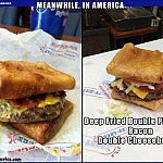 Beer Battered Bacon?! Lord Have Mercy!   double pizza puff burger Meanwhile In America 150x150c