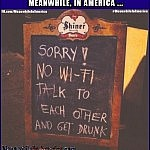 Walking into 2020 like ...   no wifi talk to each other drunk sign Meanwhile In America 150x150c