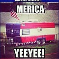 The Ever Elusive Patriotic Hood RV Trailer, Complete with Ebonics.   patriotic trailer Meanwhile In America 120x120c