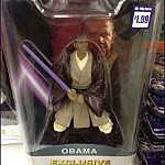 Jedi on the Streets ...   Meanwhile In America Barack Obama Jedi Toy 150x150c