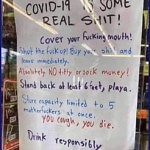 Meanwhile In America Store Sign